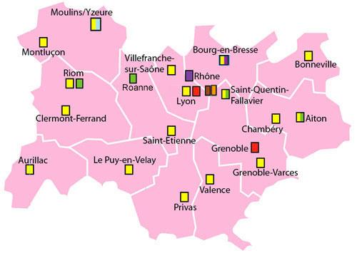En région   Rhône Alpes Auvergne   Association Genepi