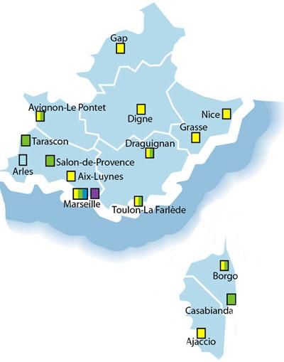 Justice annuaires et contacts direction interrgionale - Tribunal de commerce salon de provence ...