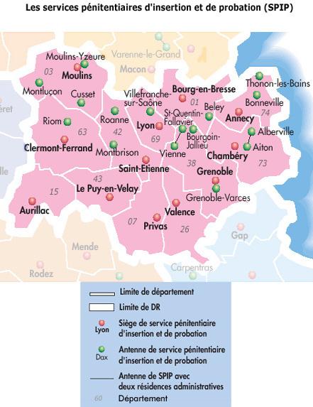 Direction interrégionale de Lyon