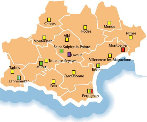Justice / Annuaires et contacts / Direction interrgionale de Toulouse